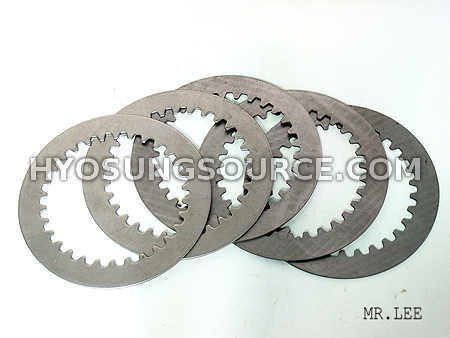 Clutch Driven (Steel) Plate Set(5) Hyosung GT250R GT250 GV250