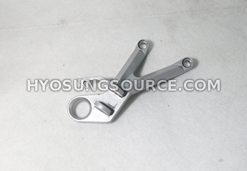 Rear Right Footrest Bracket Hyosung Comet Models (secondhand)