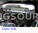 Air Filter Chrome Cover Right Hyosung GV125 GV250