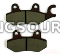 Brake Pad Set Right Hyosung MS3-250 (OEM)