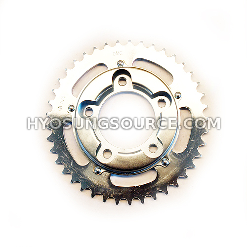 Rear Sprocket Daelim VL125 VS125 VJ125 (OEM / 42T)