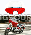 Full Windshield Daelim Daystar 125 (Red)
