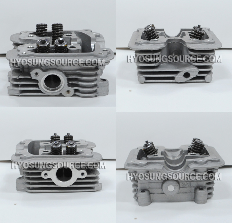 Genuine Cylinder Head Assy Carby Daelim S1 125 S2 125 SN125