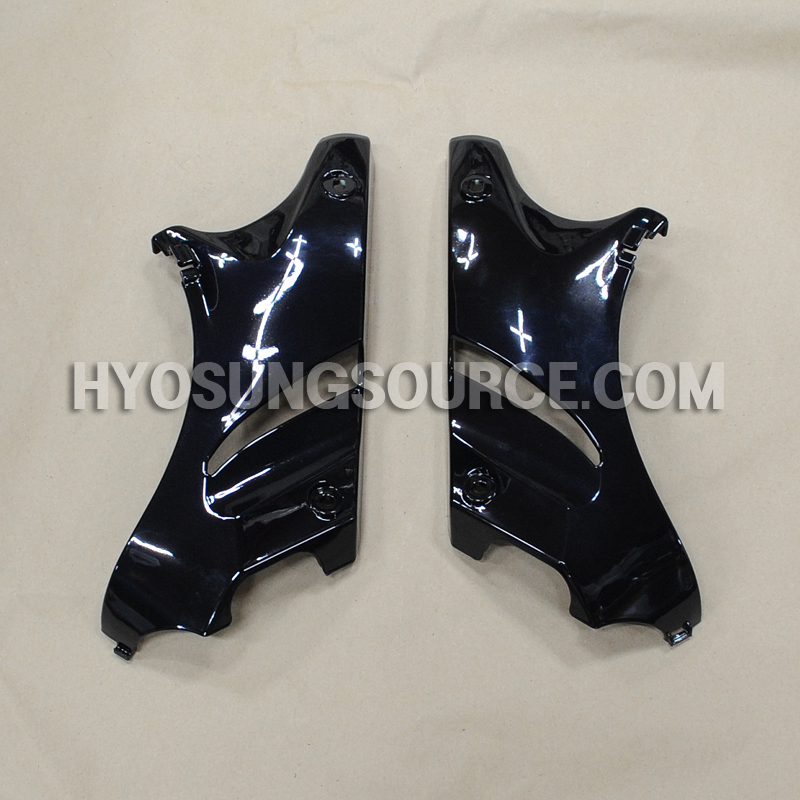 Genuine Frame Head Cover Set Black Hyosung GV125 GV250