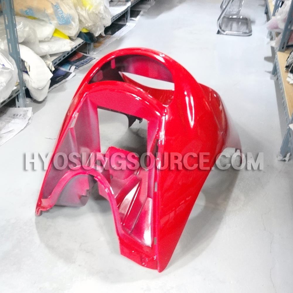 Genuine Front Upper Fairing Cover Cowl Red Daelim SH100