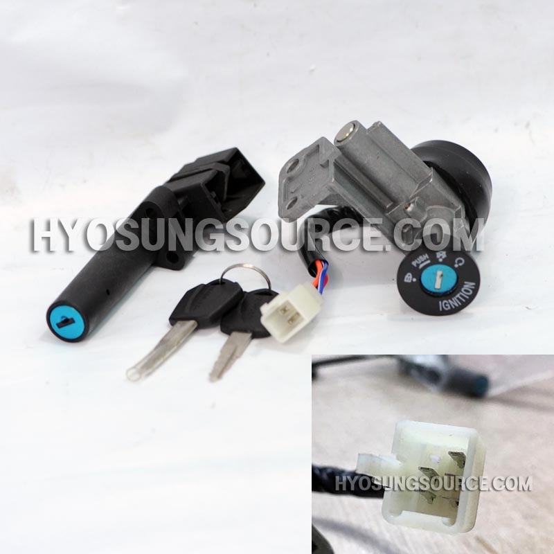 Aftermarket Ignition Key Switch Lock Set Hyosung SD50