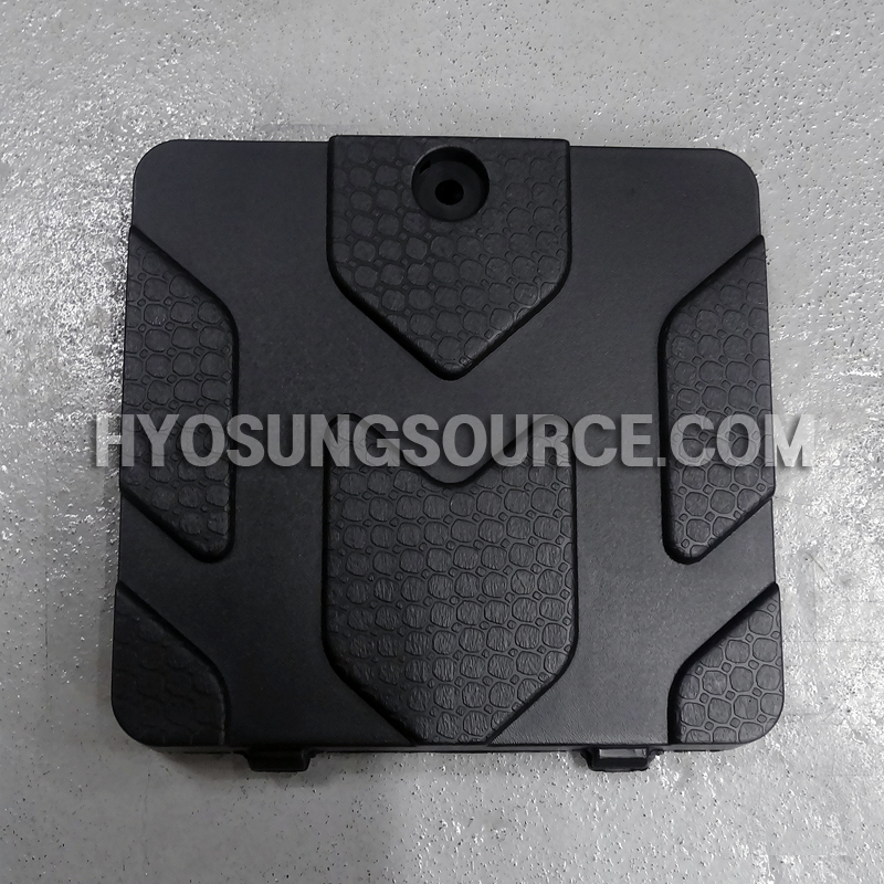 Genuine Battery Cover Lid Black Daelim SJ50 SJ50R A-FOUR