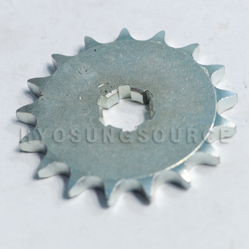 Aftermarket Front Sprocket 17T Hyosung TE100