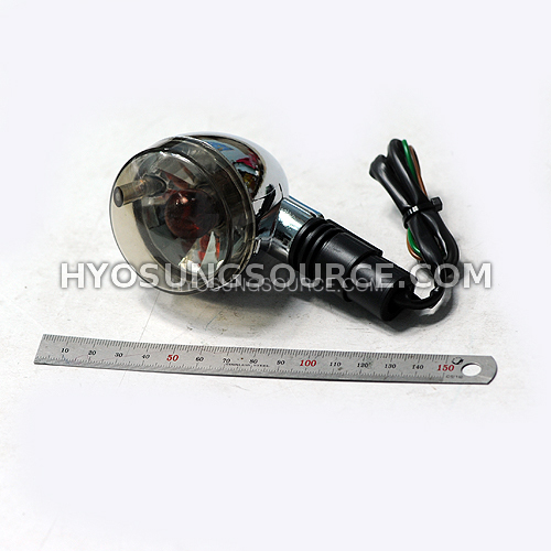Aftermarket Turn Signal Clear Hyosung GV125 GV250 (Fits All)