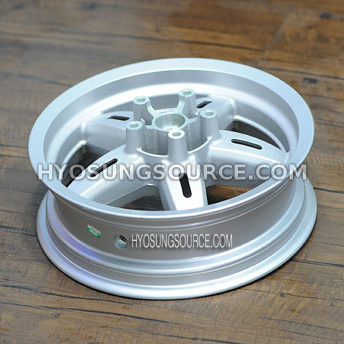 Genuine 5 Hole Rear Wheel Rim Silver Daelim S2 250 SQ 250