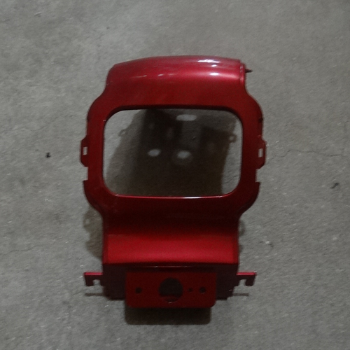 Genuine Rear Back Center Plastic Cover Light Red Hyosung SD50