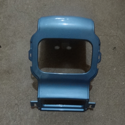 Genuine Rear Back Center Plastic Cover Light Blue Hyosung SD50