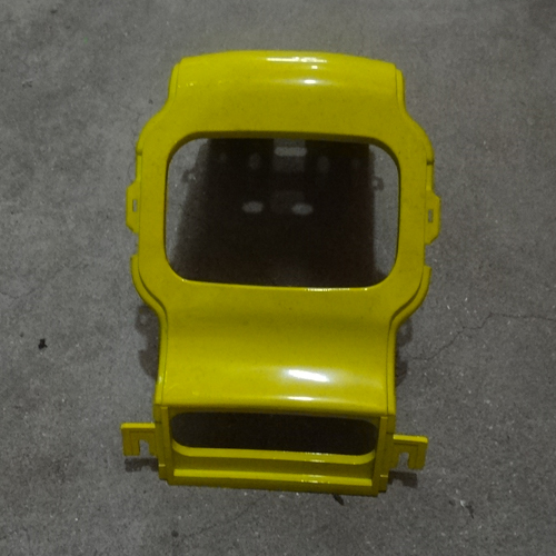 Genuine Rear Back Center Plastic Cover Yellow Hyosung SD50