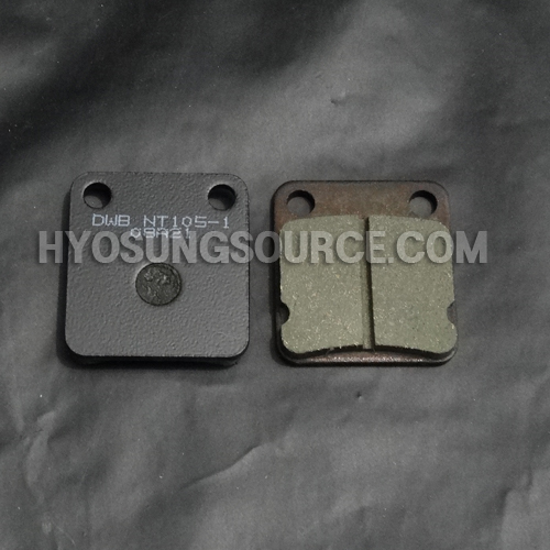 Aftermarket Front Brake Pad Set Hyosung TE450