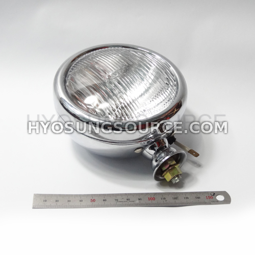 "5"" Replacement Foglight Clear Unit & Bulb/ Wiring VL125 GV250"