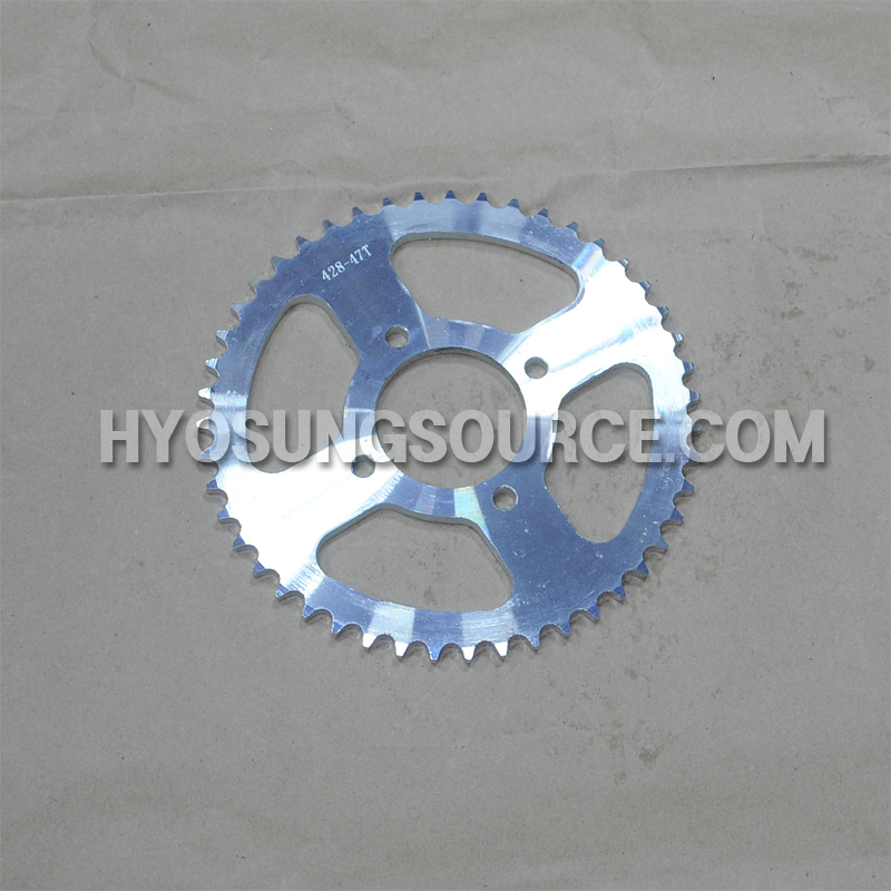 Aftermarket Rear Sprocket 47T Hyosung GA125 RX125 RT125 GV125