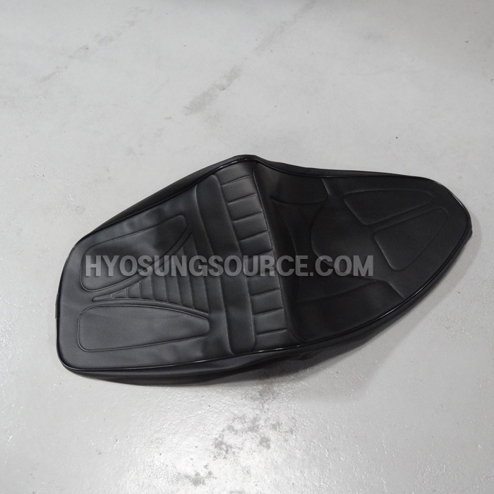Black Seat Cover Replacement Cinch Tie Daelim SL125 SG125 NS125