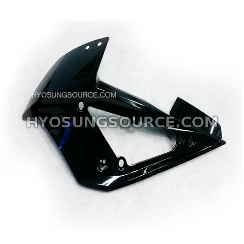 Black Left Upper Cowling Fairing Hyosung GT250RC GT650RC 2013