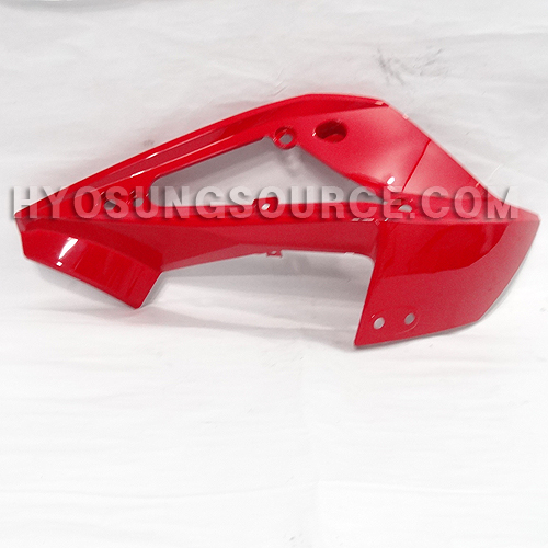 Red Left Upper Cowling Fairing Hyosung GT250RC GT650RC 2013