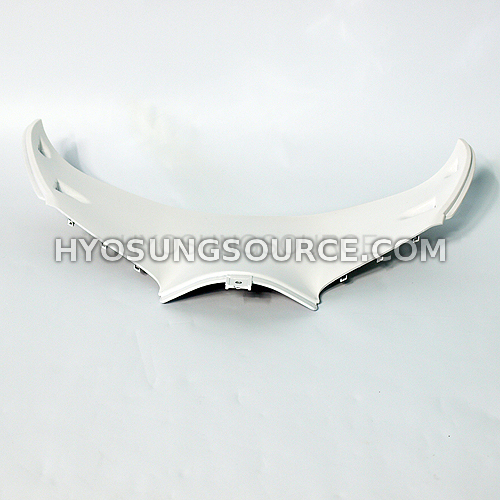Lower Front Upper Inner Headlight Fairing White GT250R GT650R