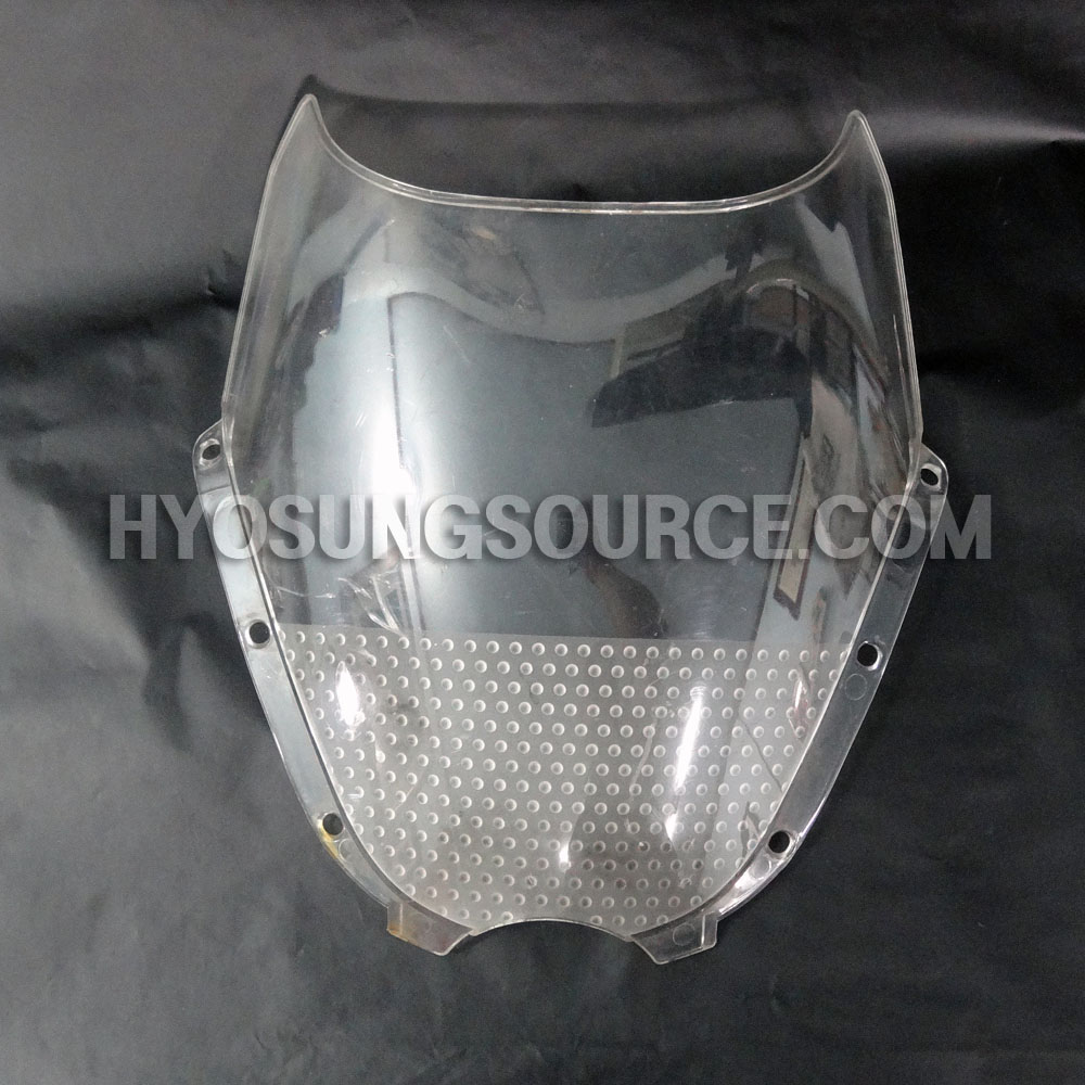 AFTERMARKET CLEAR WINDSCREEN USED HYOSUNG GT125R GT250R GT650R