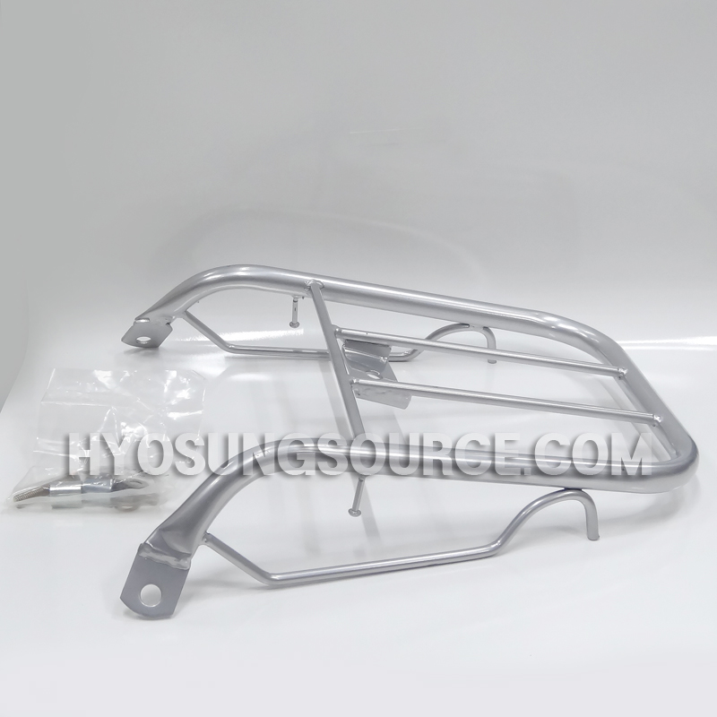 Aftermarket Rear Luggage Carrier Rack Silver Daelim SJ50 A-FOUR