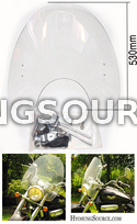 "Large 20""x21"" Clear Windshield Kit Hyosung GV125 GV250"
