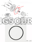 Genuine Oil Filter Cap O-Ring Hyosung GT250 GT250R GV250