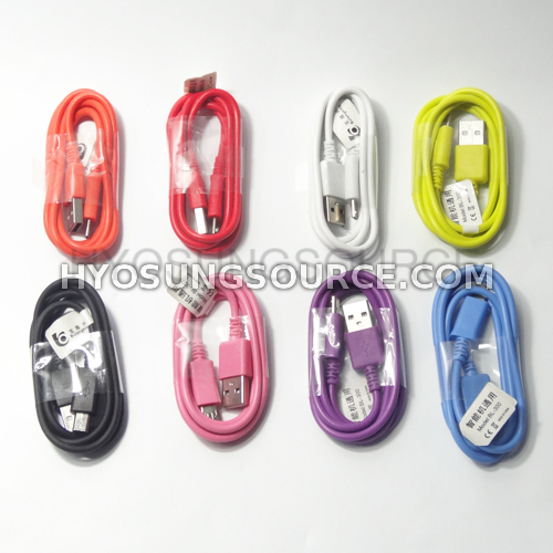 USB Sync Data Charging Cable For Samsung Galaxy S2 S3 S4