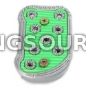 Brake Pedal Pad GV250 GV650 VL125 VT125 (SMALL SIZE / GREEN)