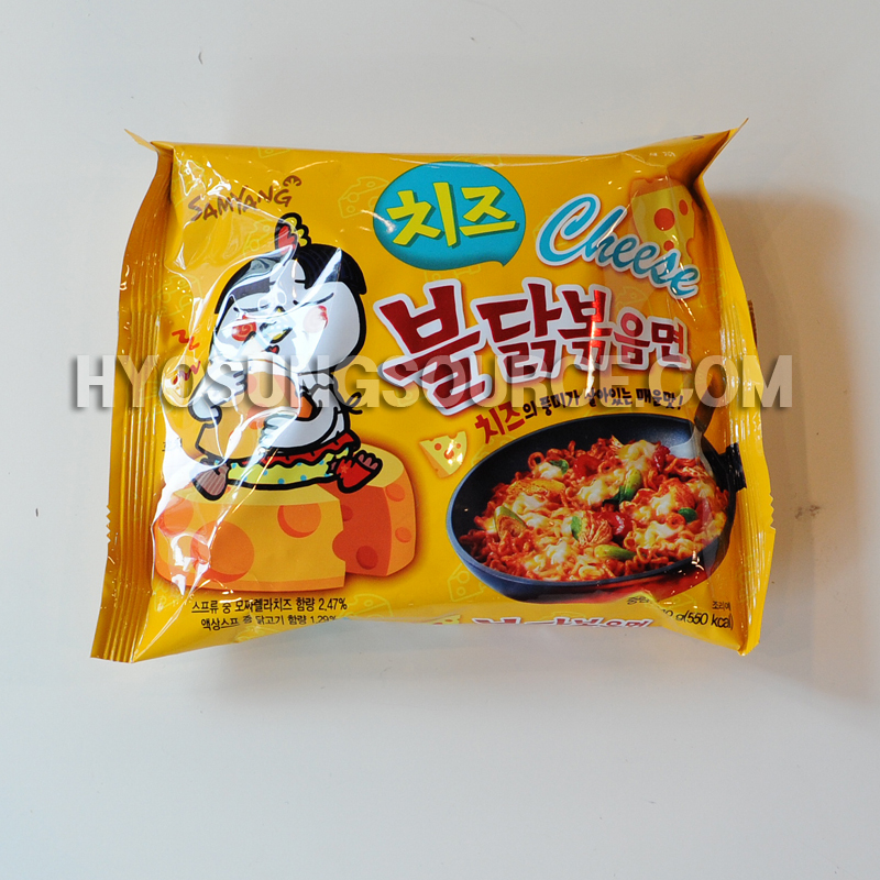 SAMYANG Noodle Hot Spicy Chicken Flavor Ramen-Cheese Type140g