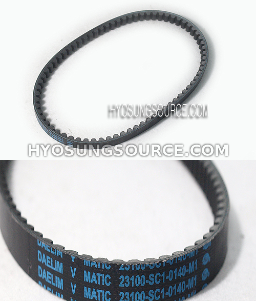 Genuine Drive Belt Daelim SH100