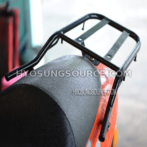 Aftermarket Rear Luggage Carrier Rack Black Daelim SJ50 A-FOUR