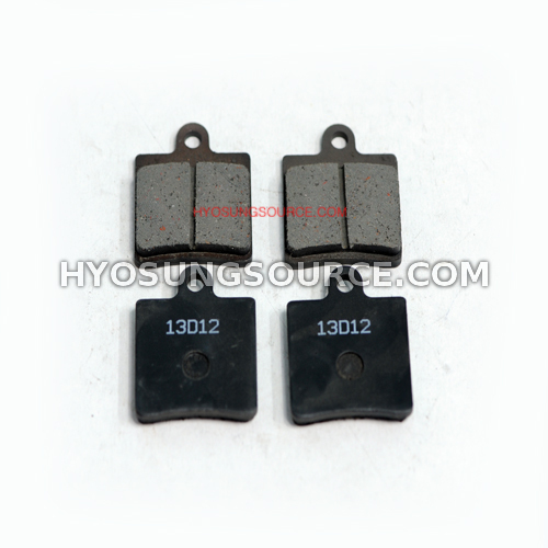 Aftermarket New Front Brake Pad Set Daelim SN125 (B-Bone)