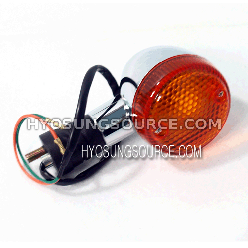 Aftermarket Rear Turn Signal Amber Lens VS125 VT125