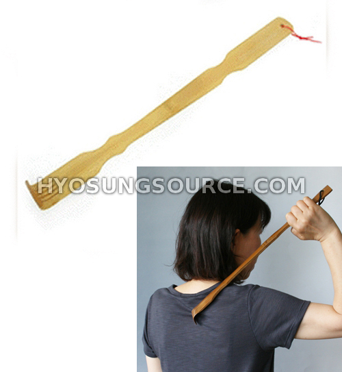 Wooden Bamboo Back Scratcher Itch