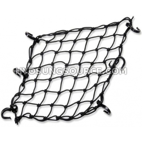 Motorcycle Stretchy Elastic Cargo Luggage Net Black